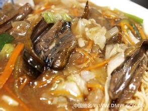 油條燴鱔魚