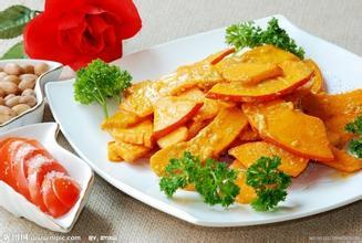 咸蛋黃焗南瓜