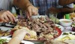 呼倫貝爾滿洲里小吃 蒙古手抓羊肉