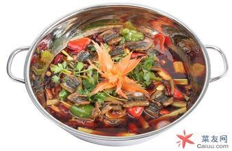 鱔魚下萵菜