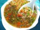 新疆小吃 扁豆面旗子湯飯