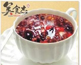 紅棗桃仁粥
